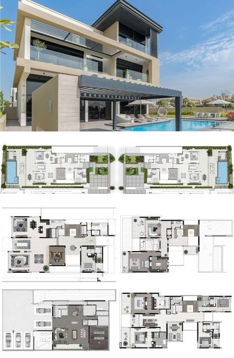 Hillside At Jumeirah Golf Estates New House Plans Mansion Floor Plan Dream House Plans