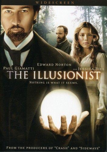 The Illusionist Dvd Walmart Com The Illusionist Edward Norton Jessica Biel