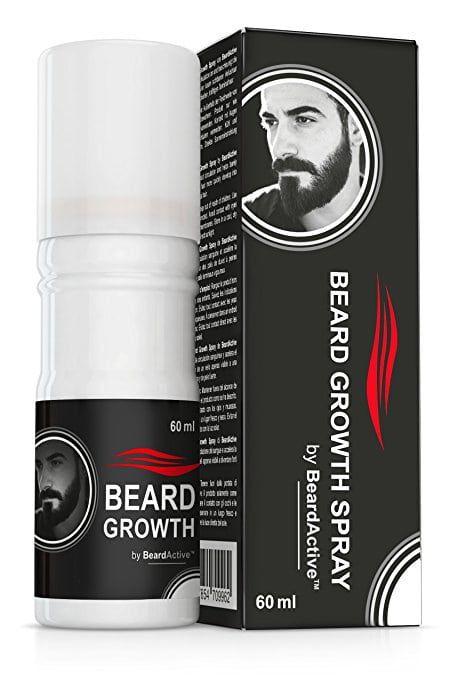 Beard Growth Spray   The Solution For Fuller Thicker Men's