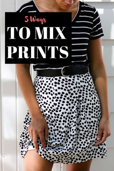 5 Ways to Mix Prints | Print Mixing Outfits - My Chic Obsession