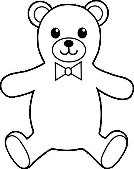 Teddy Bear Outline Images Teddy Bear Outline Bear Clipart Teddy Bear Clipart