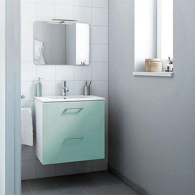 Orren Ellis Innis 24 Wall Mounted Single Bathroom Vanity Set Base