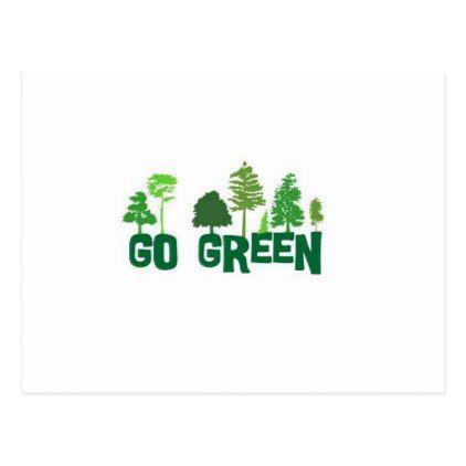 PostcardPostcard Green Life