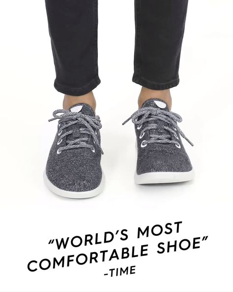 Allbirds Wool Runners are a remarkable shoe that's naturally soft, cozy all over, and fits your every move.