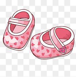 Zapatos De Bebe Zapatos En Forma De Corazon Zapatos Png Y Vector Dibujos Baby Shower Dibujo Bebe Nina Scrapbook De Bebe