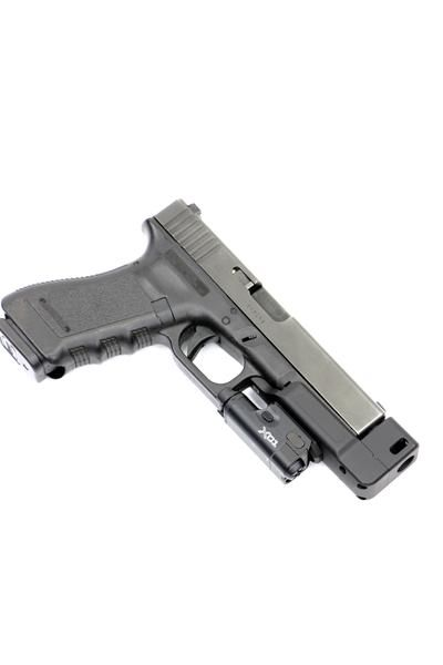 RAIL MOUNTED COMPENSATOR DARK HOUR DEFENSE GLOCK STANDOFF DEVICE Tactical & Duty Gear