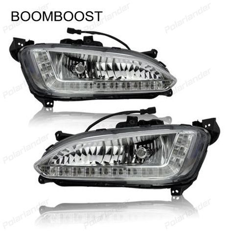 Daf CF Headlight and Fog Light Protect Stainless Steel Accessories 4 Piece