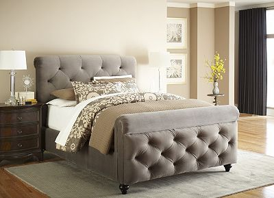 Upholstered beds are on trend! Personalize your space with the ...