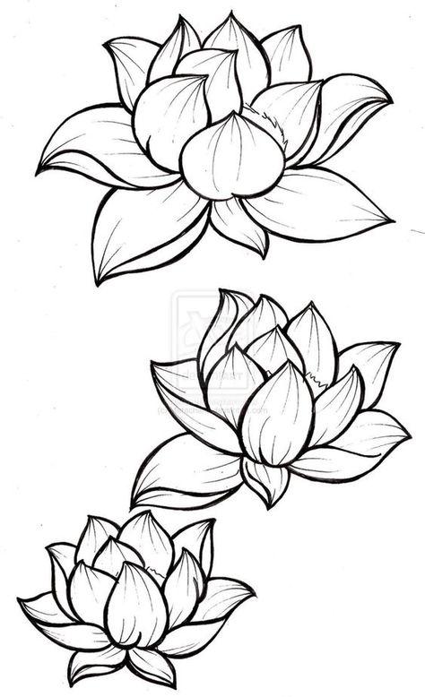 Lotus Cicegi Ve Anlami Cizim Egitimleri Dovme Sanati