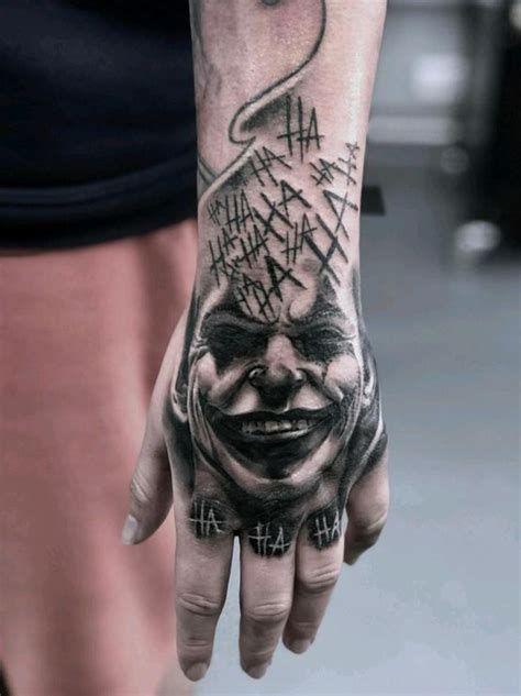 Joker Hand Tattoo Design Hand Tattoos For Guys Joker Tattoo Hand Tattoos