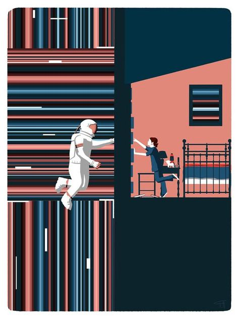Interstellar movie tribute poster (only .jpg file)