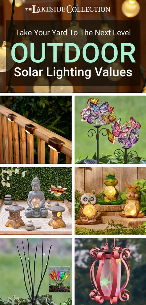 Take your yard to the next level with our outdoor lighting values! Start with solar lights to line a walkway to increase your safety, then add some decorative characters to add glowing charm to your flowerbed. Finish your landscaping with hanging lights to brighten a tree or overhang. Outdoor lighting not only looks beautiful, they turn your yard into an evening hangout and increase your curb appeal. Shop our deals today!