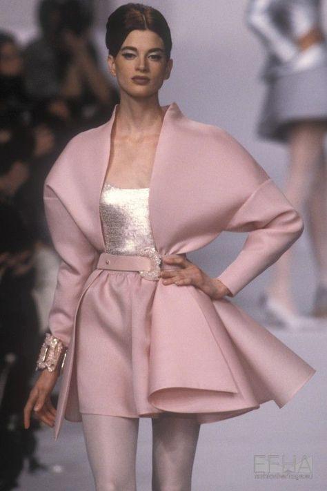 Kristin McMenamy in Lanvin, Spring-Summer Couture