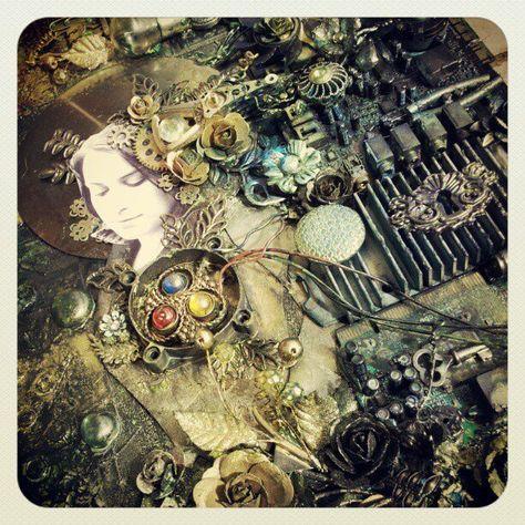 Tworzysko Finnabair: motherboard art