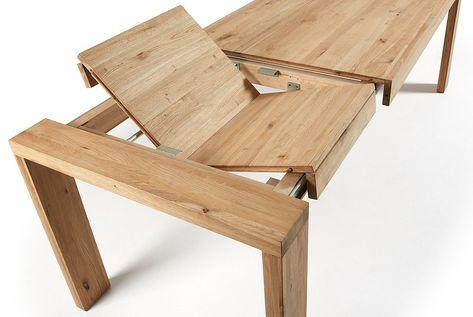 Tavolo Da Esterno Allungabile Ikea.Tavolo Robusto Allungabile In Legno Pieno Per 12 Persone Tavolo
