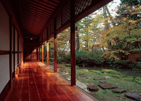 Take an exclusive tour of five beautiful Japanese homes, and enjoy these exceptional styles of traditional Japanese architecture. Modern Japanese Architecture, Japanese Style House, Japanese Buildings, Traditional Japanese House, Asian Architecture, Japanese Interior Design, Japanese Modern, Architecture Design, Architecture Drawings