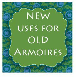 goodbye, house. Hello, Home! Homemaking, Interior Design Blog, Staging, DIY: New Uses for Old Armoires