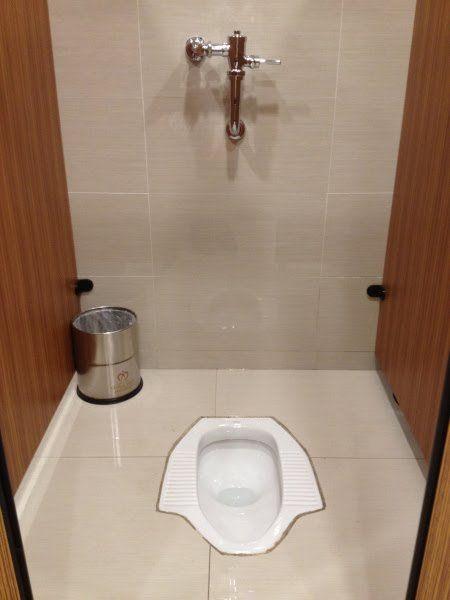 Squat Pot Squat Toilet Toilet Toilet Design 1x1 minimalist bathroom squat toilet