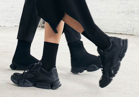 Reebok Sock Run.r + Run.r 96 Black Buy Now | Reebok, Fashion