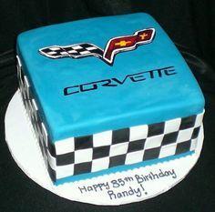 Corvette themed grooms cake by K Noelle Cakes Cakes by K Noelle