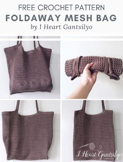 Diy Crochet Bag, Crochet Market Bag, Crochet Crafts, Crochet Hooks, Crochet Projects, Crochet Tote Bags, Crotchet Bags, Bag Pattern Free, Tote Pattern