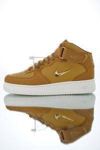 Nike Air Force 1 Jewel Mid '07 LV8 Bronze Metallic Gold