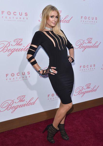 Paris Hilton Now - Red Carpet Flashback - Then & Now - Photos