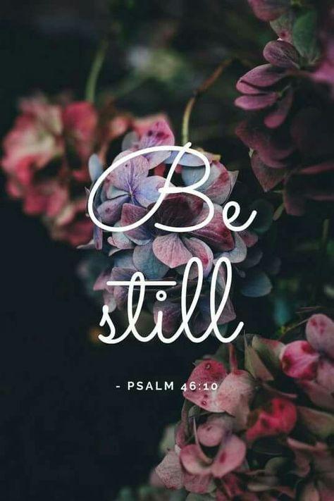 Salmos 46 10 Aquietai Vos E Sabei Que Eu Sou Deus Com Imagens