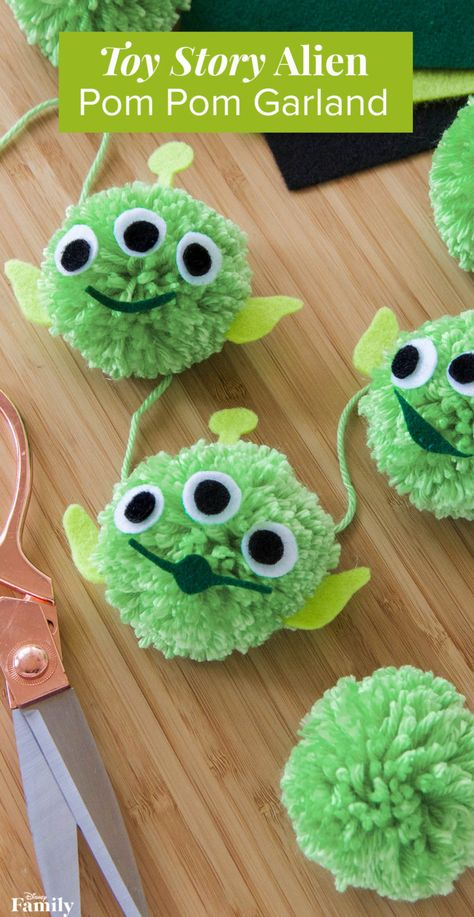 Make Your Party Out of This World With a 'Toy Story' Alien Garland