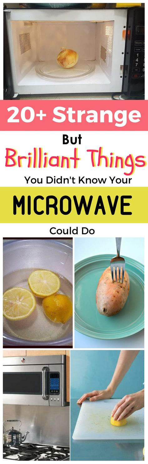 If you've ever asked 'can you microwave' something, you know that it sometimes isn't very clear what you can and cannot do with a microwave. Well, here at Shareably, we've compiled a list of the things you didn't know you could do with a microwave. These brilliant microwave ideas and tips and tricks will change the way you use it!  #lifehacks #microwaves
