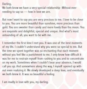Love Letter That Will Make Him Cry from i.pinimg.com