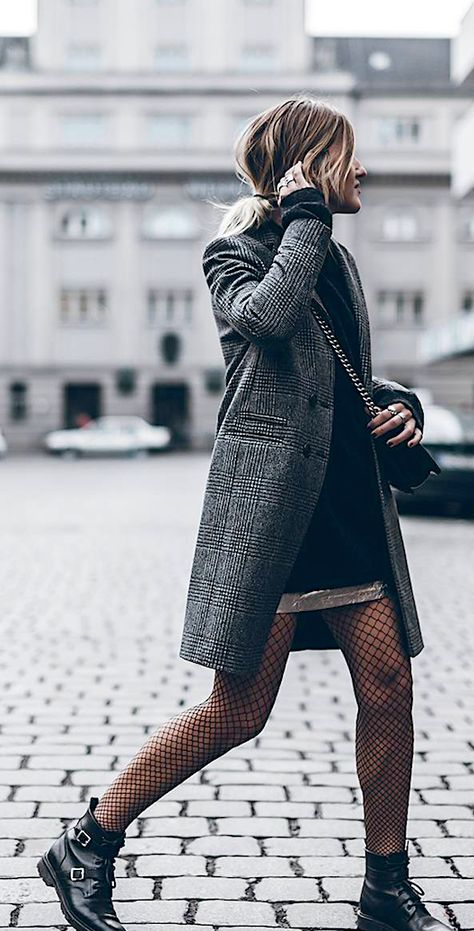 Reasons That Will Convince Your To Wear Fishnets And Rock Them This Fall.  The Intriguing Story Of The Fashion Piece Only Bold Women Dare Wear. What began as an option for showgirls and other femme fatales at the turn of the twentieth century is now a staple in every modern woman's closet.