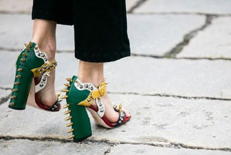 Spikes Galore - How to Spice Up Your Wardrobe with Maximalist Shoes  - Photos