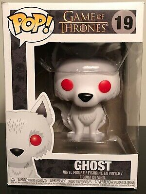 POP Game of Thrones Vinyl Figure Ghost #19 Funko