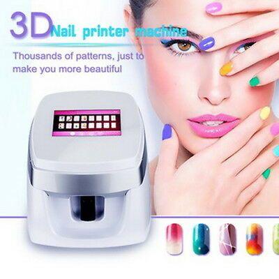 Hot 3d Digital Nail Art Printer Painting Digital Nail Flower Art