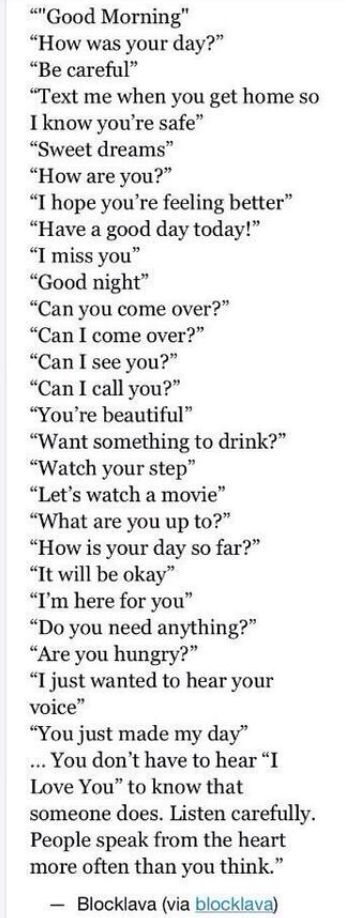 other ways to say love