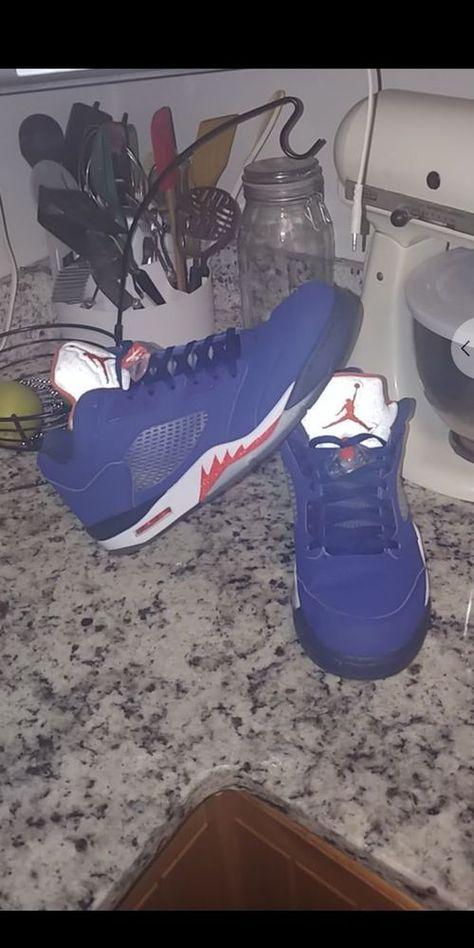 timeless design 088de b646d Nike Air Jordan 5 V Retro Low  Knicks  Royal Blue-Orange sz 14  819171-417    fashion  clothing  shoes  accessories  mensshoes  athleticshoes (ebay link)