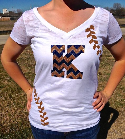 CUTE baseball mom shirt with seams and chevron GLITTER and custom colors and team name.. I WANT THIS SHIRT!!! They have an Etsy page so it's easy to buy!