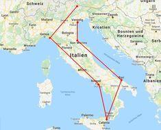 Italien Rundreise Alle Informationen Fur Den Perfekten Roadtrip