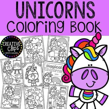 Unicorn Coloring Pages Made By Creative Clips Clipart Creative Clips Clipart Unicorn Coloring Pages Clip Art