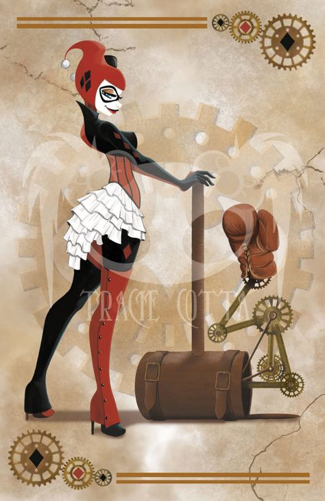 Harley Quinn - Steampunk shared by Sweet on We Heart It