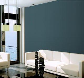 Papier Peint Intisse Spaces Lines Bleu Canard Papier Peint
