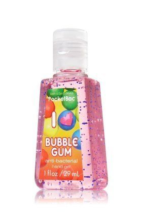 Bath Body Works I Love Bubble Gum Pocketbac Scented Antibacterial