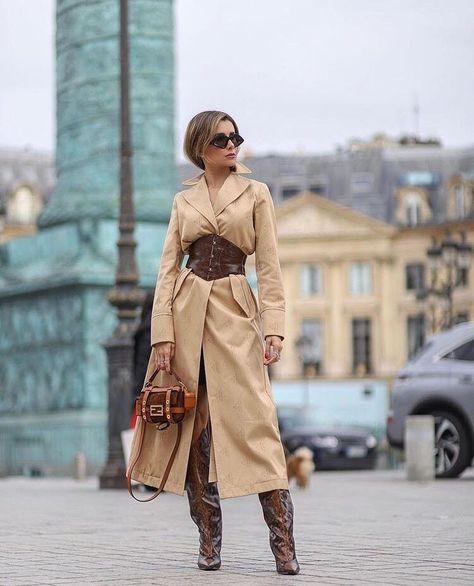 """Madame Sher Corsets on Instagram: """"O friozinho voltou, que tal essa dica de look da belíssima @camilaquintao1 para marcar a cintura?♥️"""""""