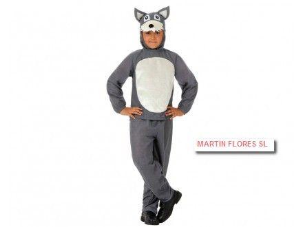 Disfraz Lobo Infantil Niño En Sevilla Www Martinfloressl Es Tiendaonline Disfraces Disfraces Infantiles Disfraz