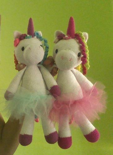 Keychain - Llavero de Unicornio a crochet / Aprende a tejer tu ... | 500x364