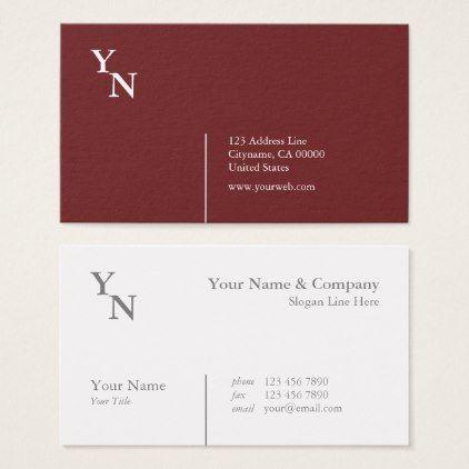 Professional Typography Burgundy Business Card Zazzle Com Web Design Trends Web Design Trends Website Web Design