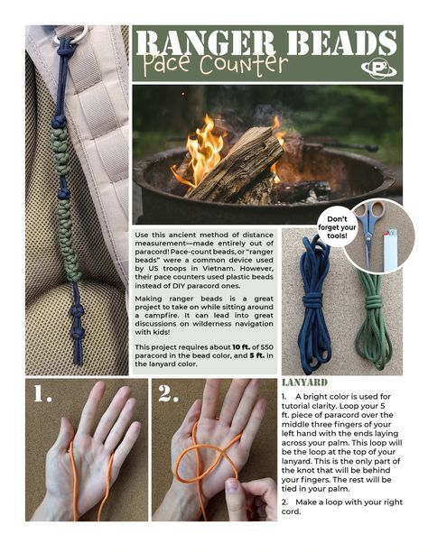 Make Your Own Pace Counter With This Tutorial Paracord Beads
