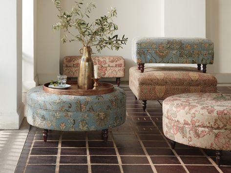 Astounding Adria Upholstered 38 Round Ottoman In 2019 Ottoman In Machost Co Dining Chair Design Ideas Machostcouk