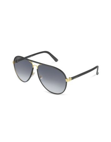 0df4d827185 Save on Gucci GG 2887 S UZAJJ Black Leather Grey from the UK s leading  fashion eyewear store! This item comes complete with original  manufacturer s case and ...